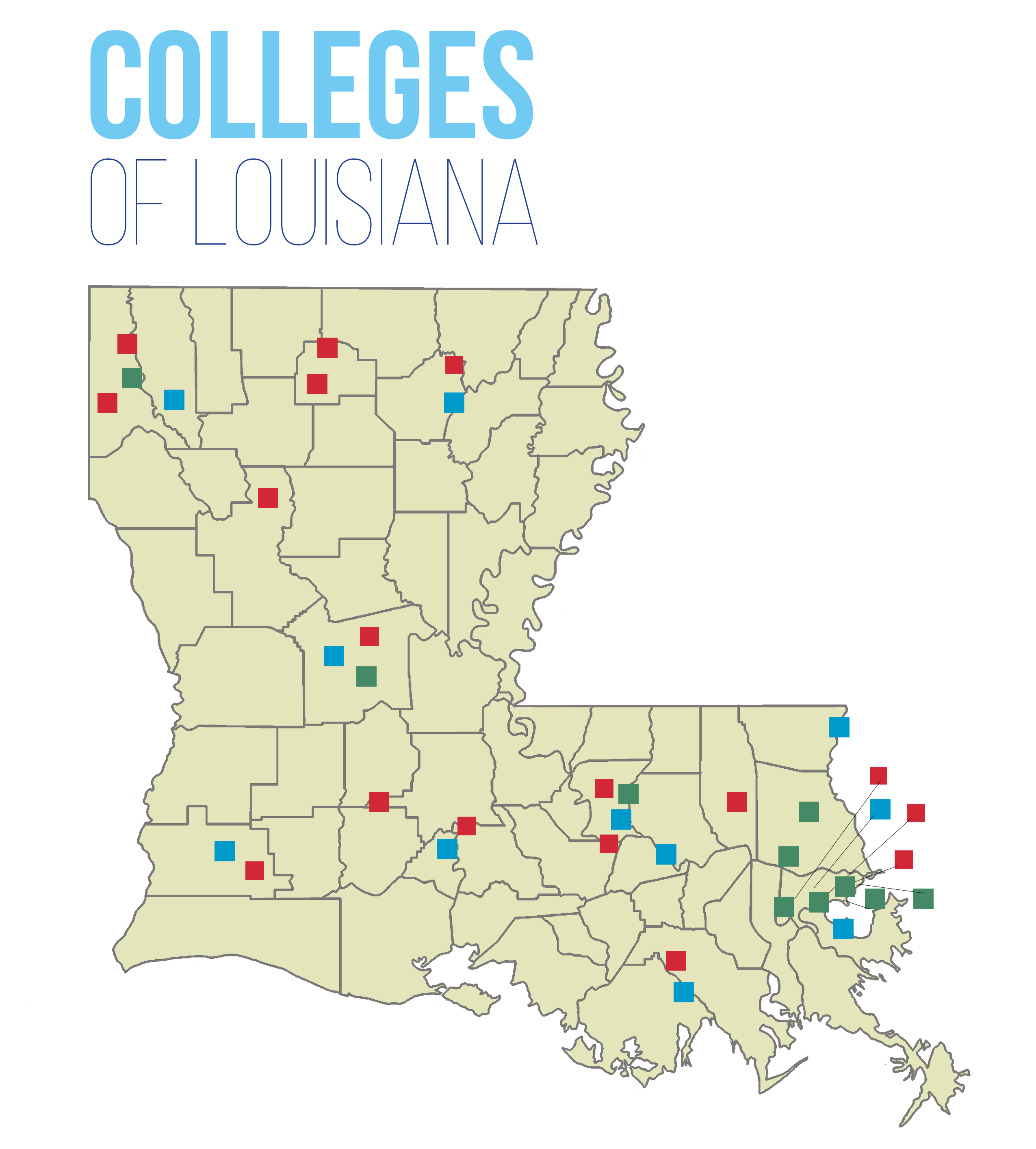 LOSFA Links to Louisiana Colleges and Other Useful Sites