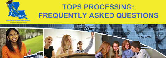 TOPS Processing: Frequently Asked Questions