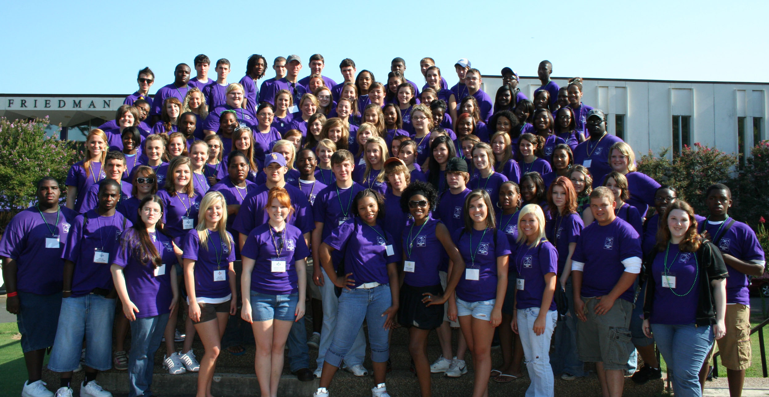 Trailblazer Camp 2009 (Northwestern State University)